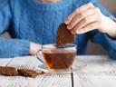 Какаови бисквити с масло