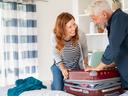 Как да подредите куфара си така, че да побере повече багаж?