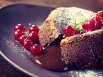 Шоколадови кексчета с течен център