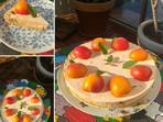 Вкусна нискокалорична кайсиева торта