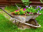 Пролетна декорация за градината