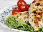 Мариновано пиле по гръцки на скара