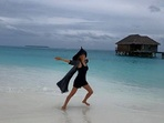 Гала посети подводен ресторант на Малдивите