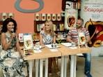 Венета Райкова представи новата си книга