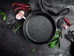 6 ползи от готвенето в чугунен тиган