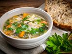 Супа от пилешки дреболии