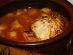 Супа с пилешко и картофи