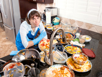 Хаосът в кухнята ни кара да преяждаме