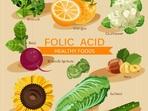 Дефицитът на фолиева киселина може да предизвика анемия
