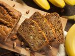 Пълнозърнест бананов хляб с ядки