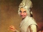 Мистър Бийн и неговите забавни портрети (галерия)