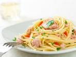 Спагети с риба тон за мултикукър