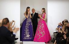 Модните шедьоври на Оскар де ла Рента (галерия)