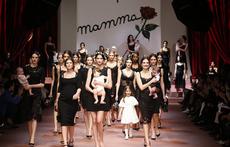 Dolce & Gabbana с колекция посветена на майките (галерия)