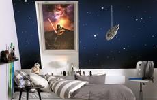 Галактическа колекция затъмнителни щори Star Wars & VELUX от друго измерение