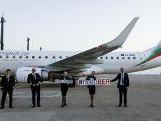 """Новото летище Бранденбург """"Вили Бранд"""" посрещна първия полет на """"България Еър"""""""
