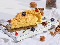 """Торта """"Наполеон"""" със сълзици"""