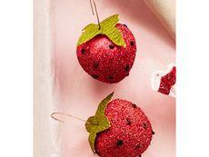 Как да си направите играчки ягоди за елхата