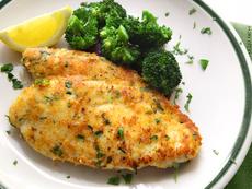 Хрупкаво пилешко с чесън на фурна