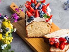 Кекс с крема сирене и ванилия