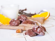 Лесни какаови бисквити