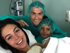 Роналдо стана горд баща на дъщеря