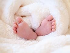 Успокойте бебето с рефлексология