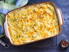 Запеканка със зеленчуци и сирене