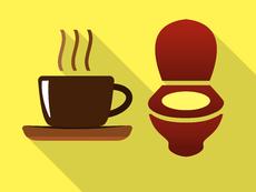 Митът, че кафето предизвиква изхождане