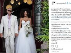 Венсан Касел се ожени за красавицата Тина Кунаки