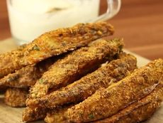 Печени картофи с пармезанова коричка