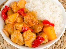 Лесно пиле в сладко-кисел сос