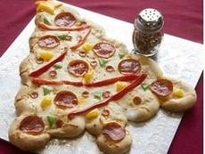 Пица във формата на елха