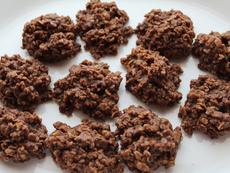 Овесени бисквити с какао