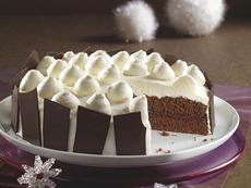 Рецепта за снежна торта