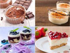 15 рецепти за десерти с крем, мус и парфе