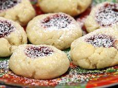 Маслени бисквити с конфитюр