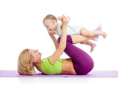 Гимнастика за майки с бебета