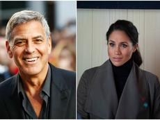 Джордж Клуни защити бременната Меган Маркъл