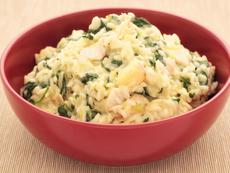 Ориз с пилешко и праз лук