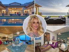 Бритни Спиърс почива в имение за 30 милиона долара