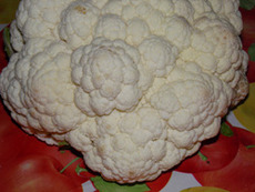 Карфиолът – бели съцветия здраве