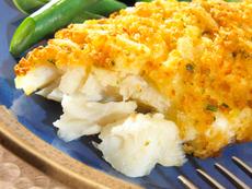 Печена риба с хрупкава коричка