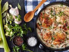 Пилешко по френска рецепта