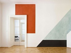Идея за боядисване на дома в геометрични форми