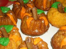Хелоуински кексчета-тикви