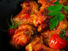 Пиле със салца в мултикукър