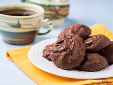Шоколадови маслени бисквити