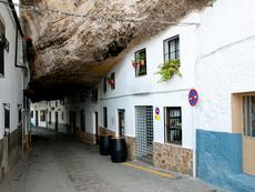 Сетенил де лас Бодегас – градът, сгушен в скали (галерия)
