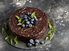 Торта с много шоколад и без брашно